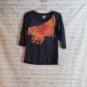 Lucky Brand t shirt Sz XL